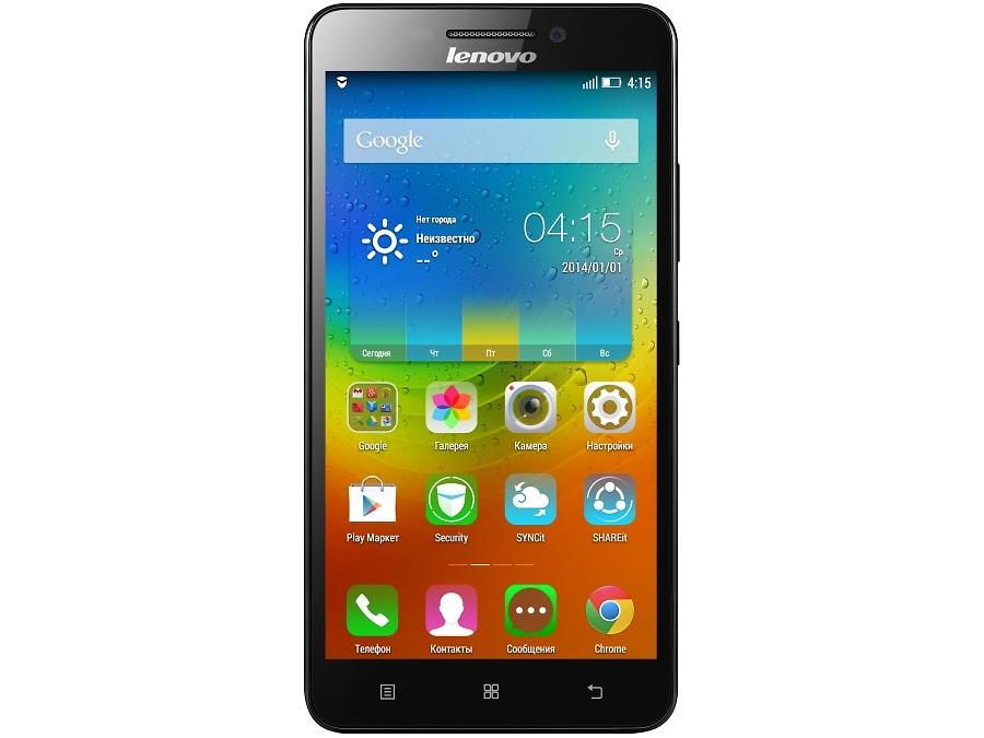 Смартфон Lenovo A5000 Black